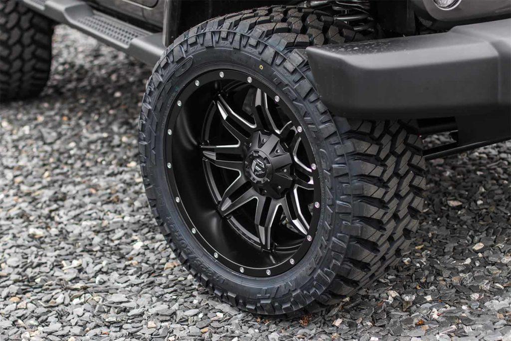 Custom Aluminum Alloy Wheels at Palmer Custom Jeeps by SORS
