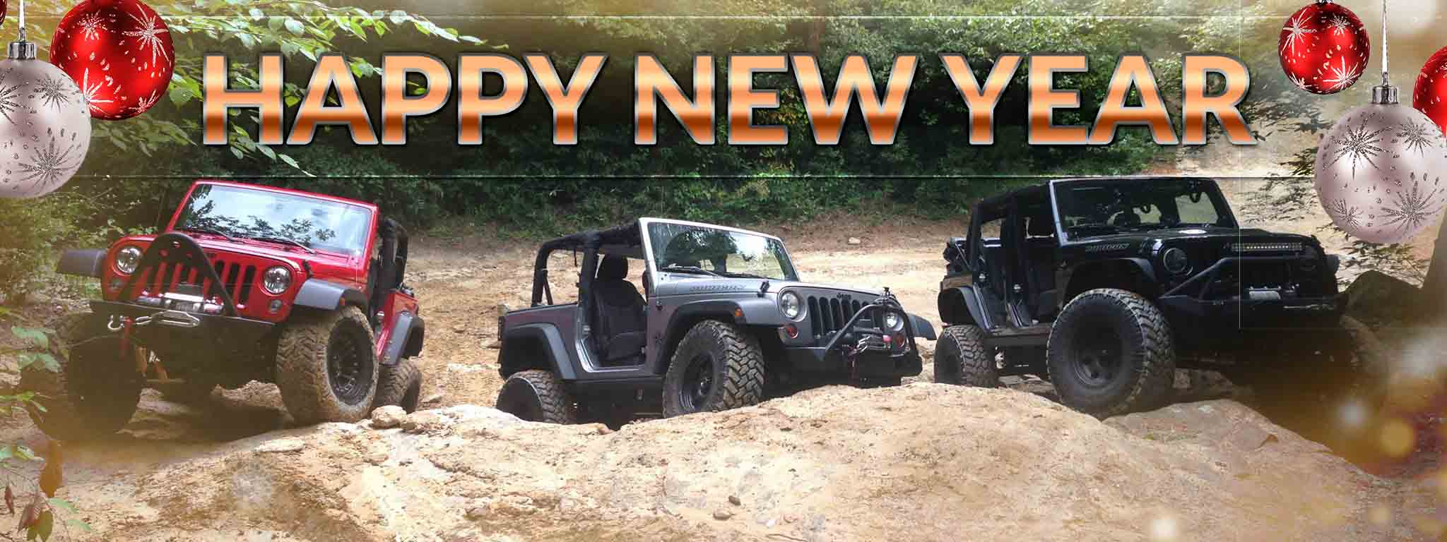 Custom Jeeps New Year's Resolutions