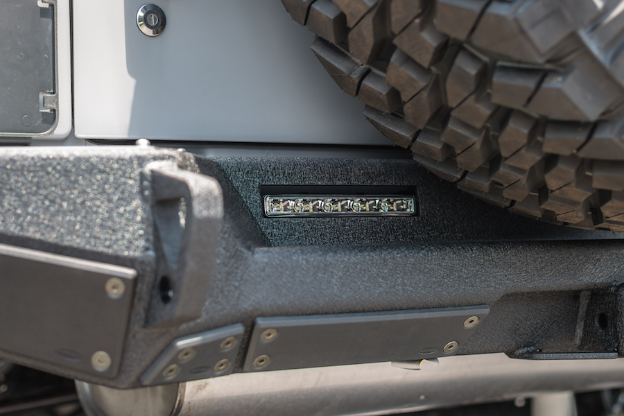 Palmer Custom Jeeps by SORS - Off-Road Rear Bumper wtih Backup Lights