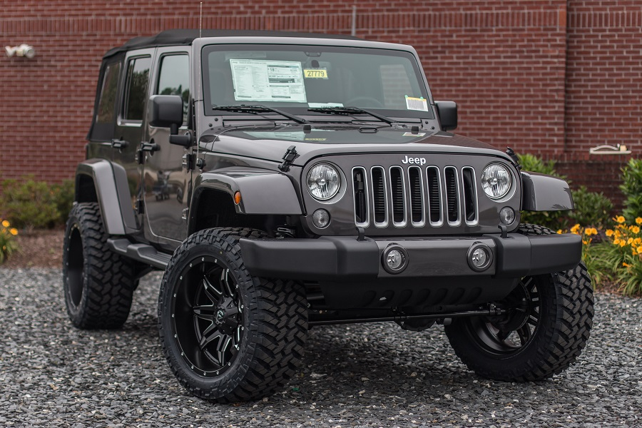 Custom Lifted Jeep - 3.5-inch Rubicon Lift and ProCal Module