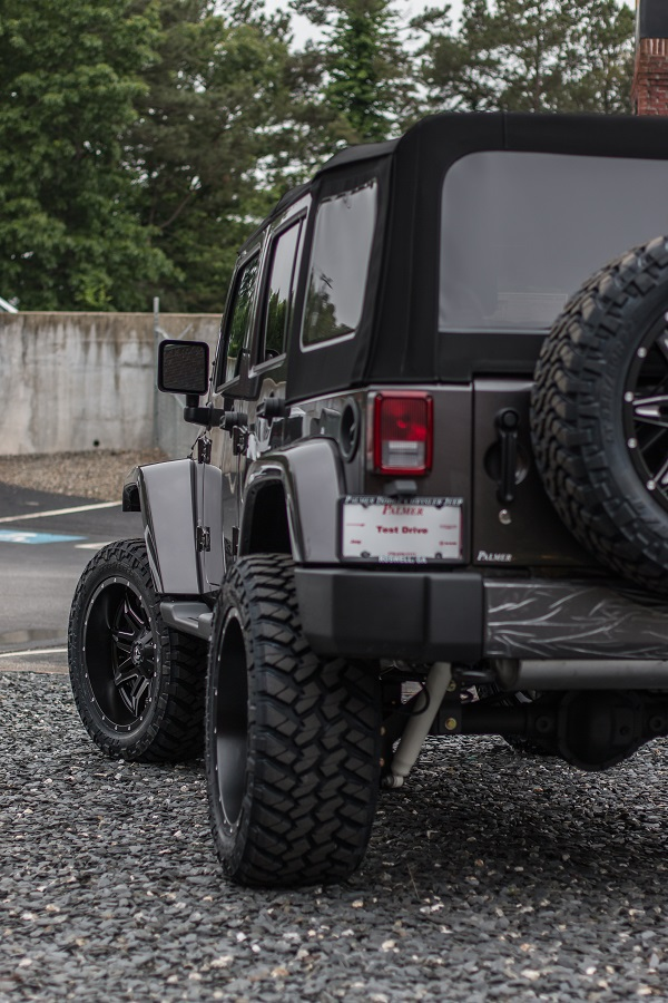 Custom Lifted Jeep - Soft Top